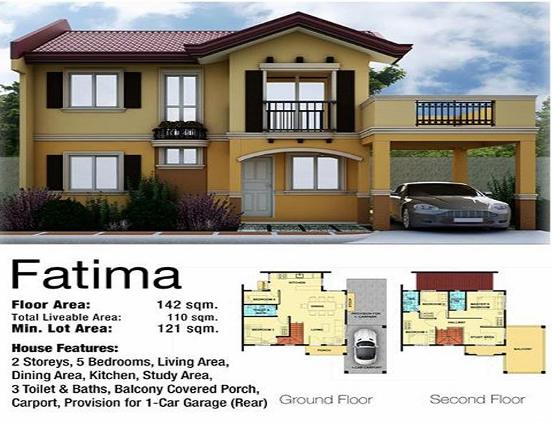 Fatima House Floor Plan