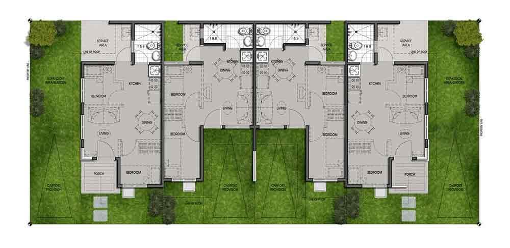 Multi Pod Floor Plan