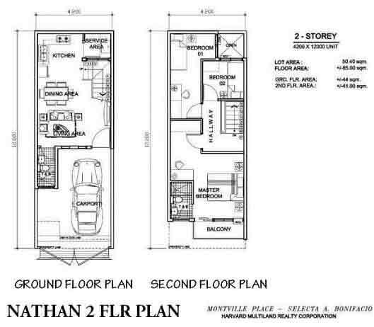 Nathan Floor plan