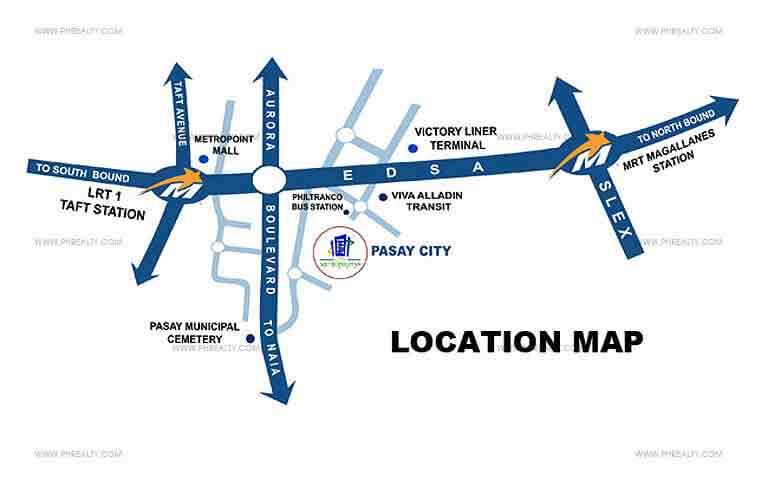 One Metropolitan Place Location