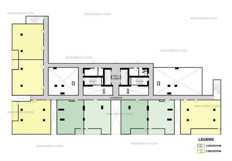 One Maridien 5th Floor Plan