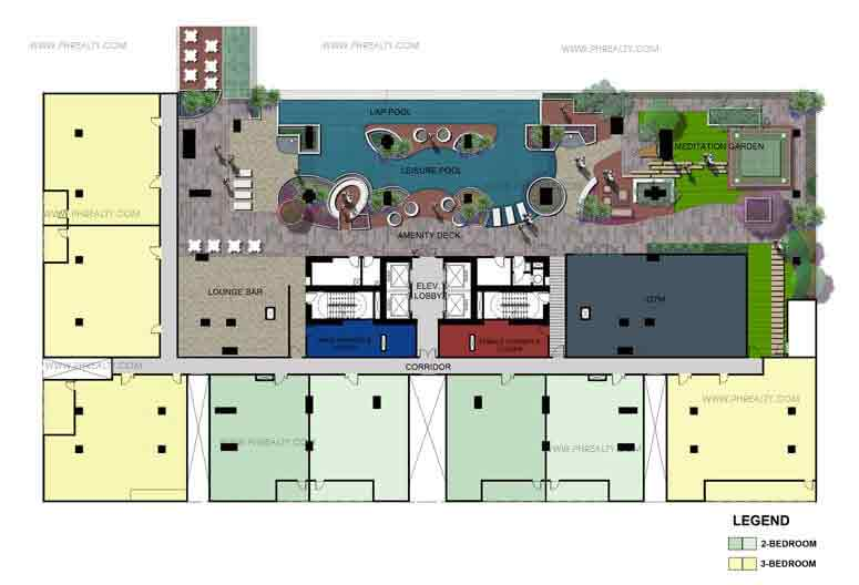 One Maridien 3rd Floor Plan