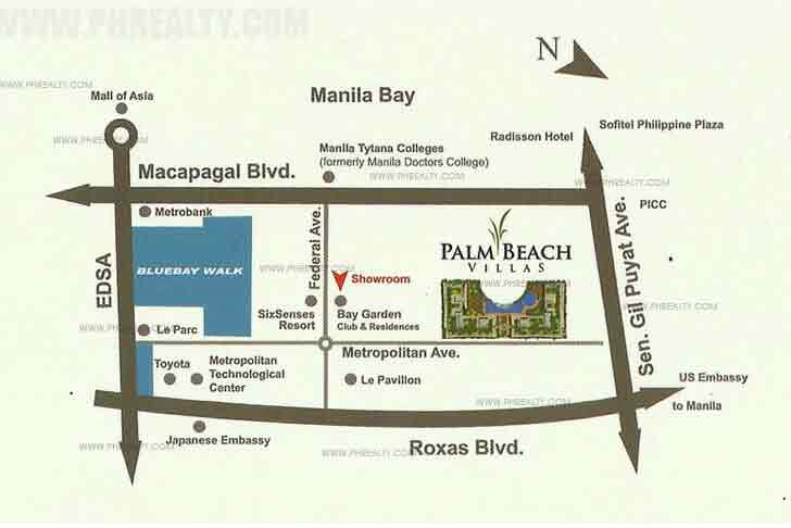 Palm Beach Villas Location