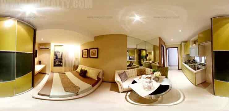 Pre Studio Type Unit 3 - Living Room