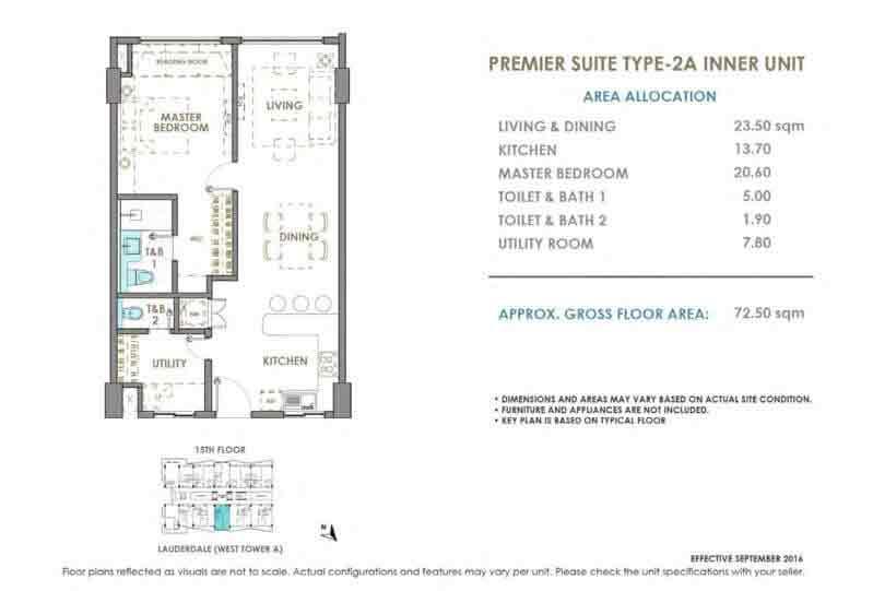 DMCI Oak Harbor Premier Suite Type 2A Inner Unit