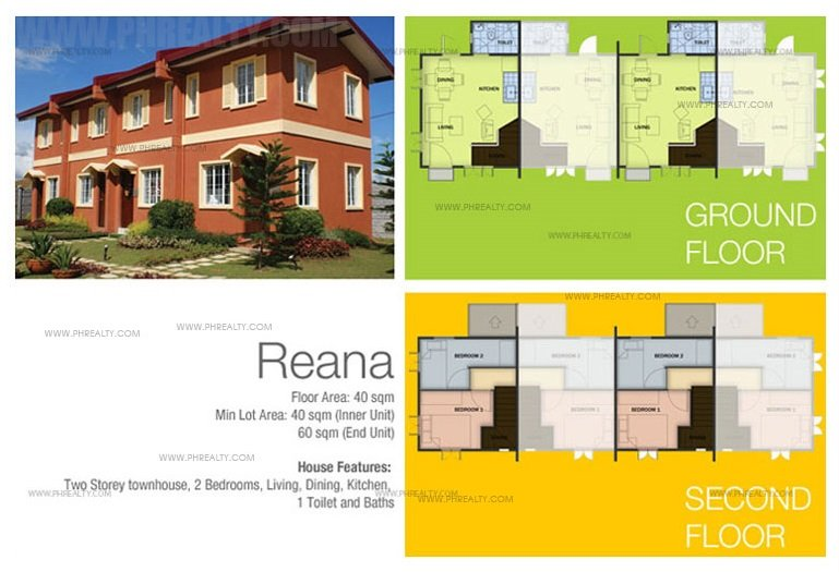 Reana -TH House Floor Plan