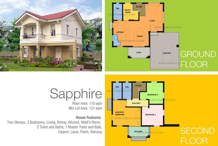 Sapphire House Features & Specifications