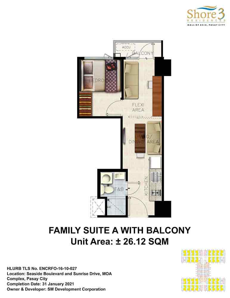 Family Suite A with Balcony