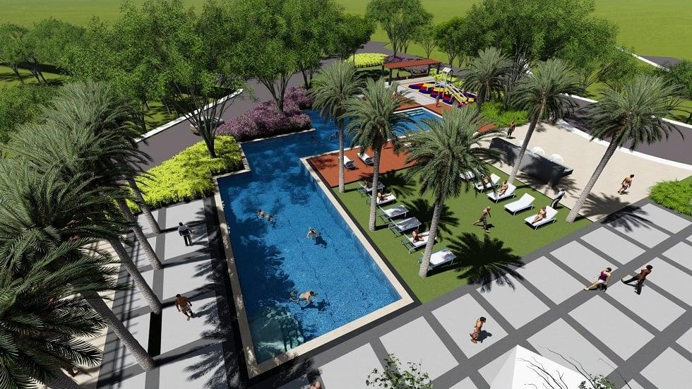 Solviento Villas Aerial View