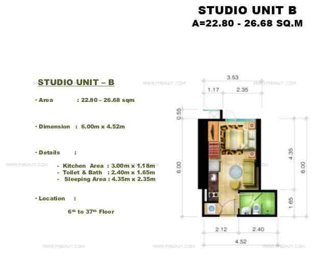 Studio Unit B