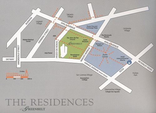 The Residences at Greenbelt Location
