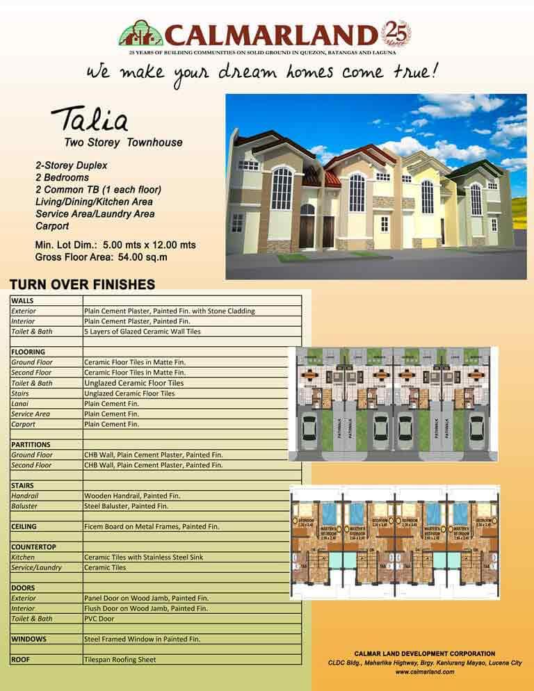 Talia (2-Storey)