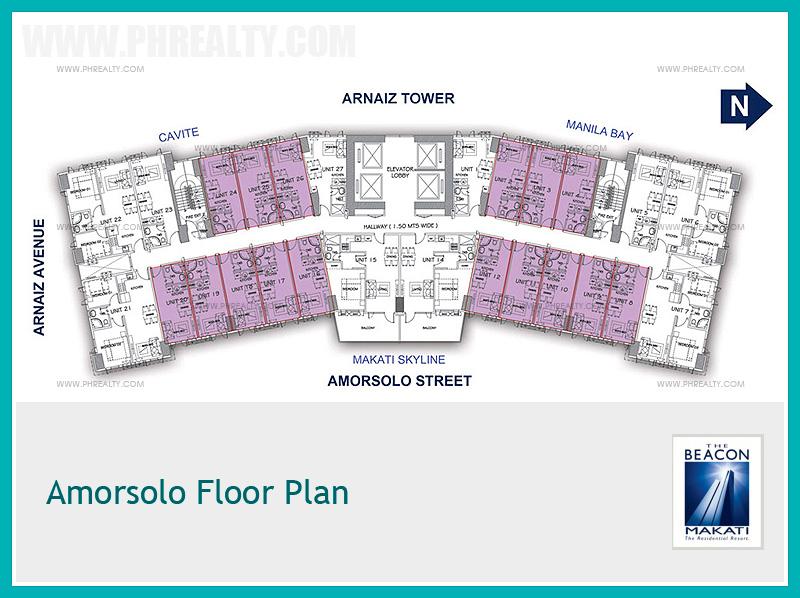 Amorsolo Floor Plan