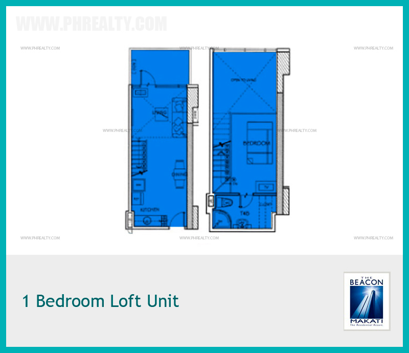 1 Bedroom Loft Unit
