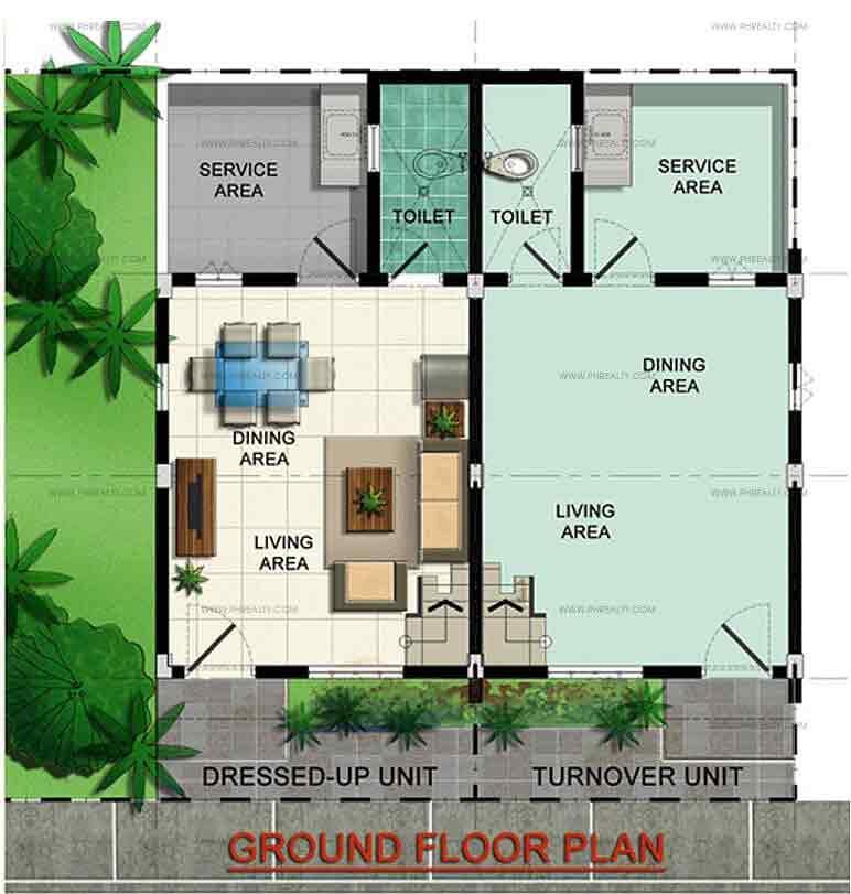 Maya Regular Ground Floor Plan