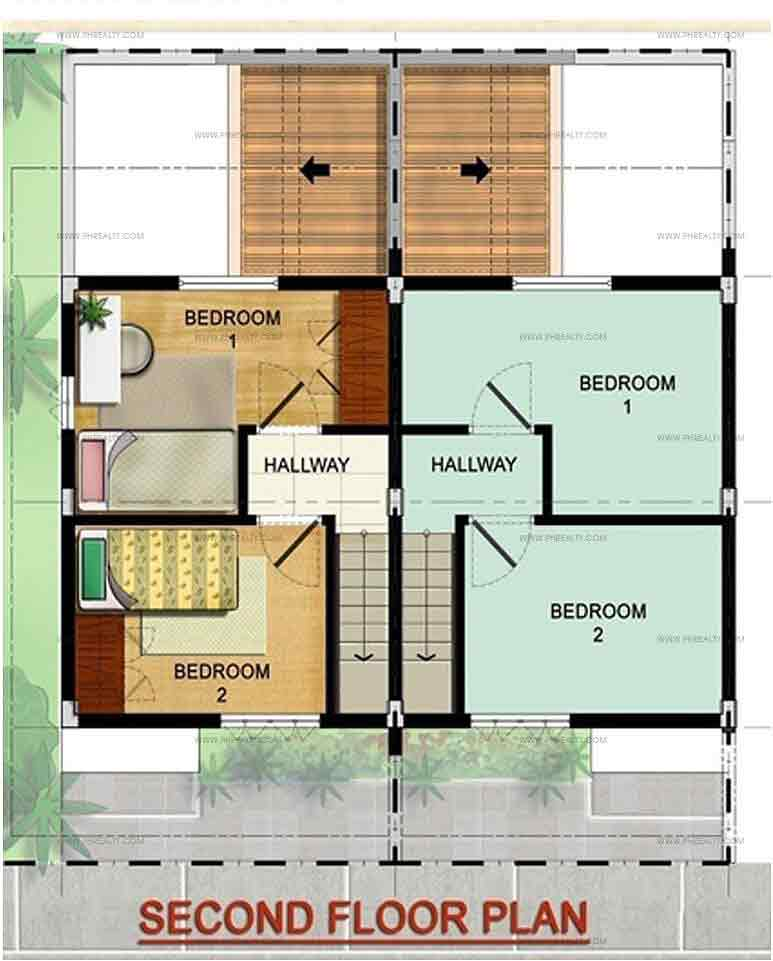 Maya Regular Second Floor Plan