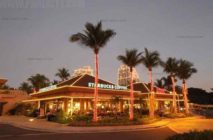 The Grove Retail Night Shot