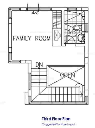 Heisei Third Floor Plan