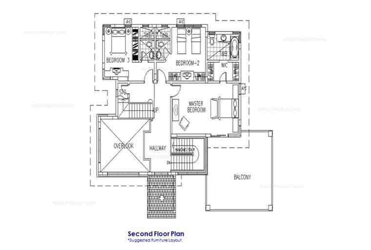 Heisei Second Floor Plan