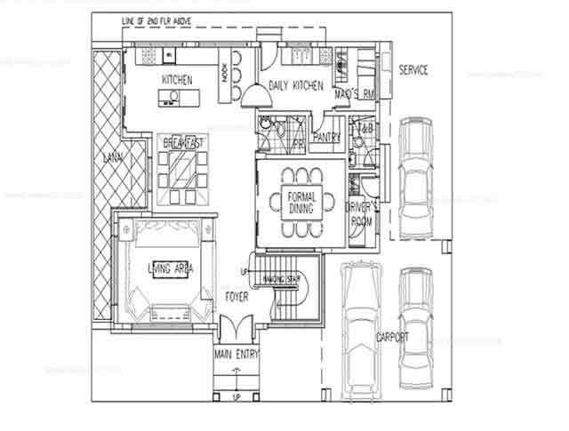 Heisei Ground Floor Plan