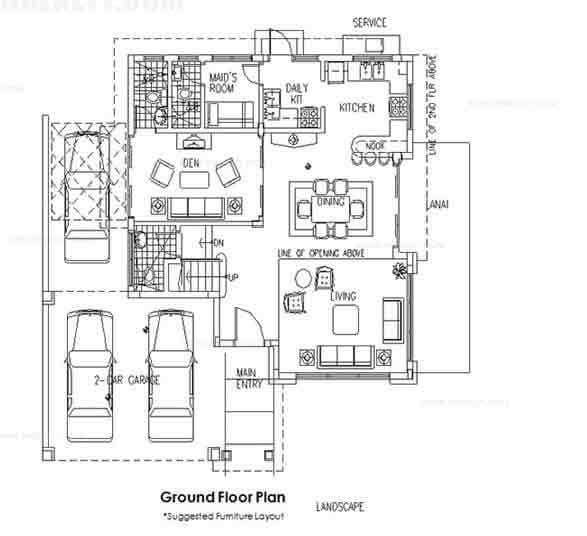 Showa Ground Floor Plan