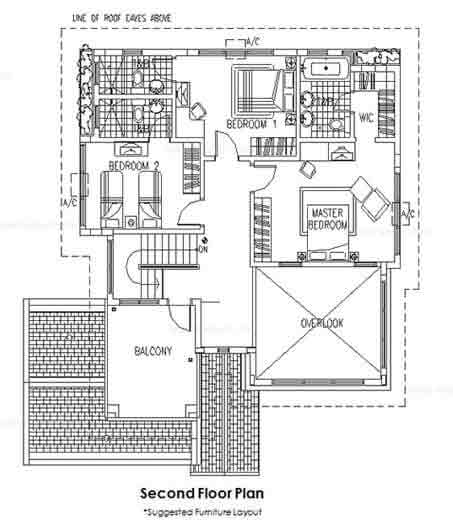 Showa Second Floor Plan