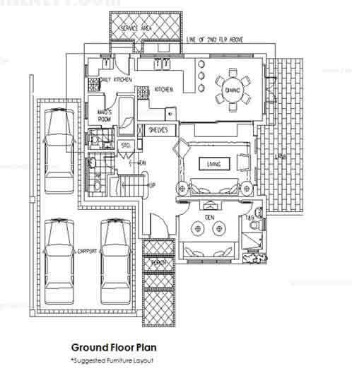Taisho Ground Floor Plan