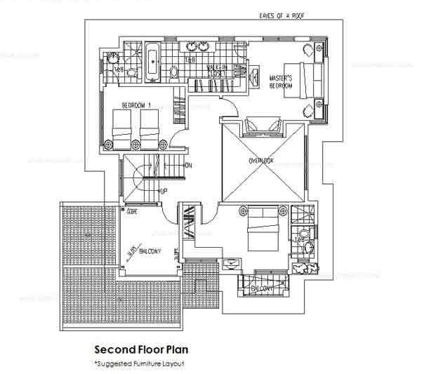 Taisho Second Floor Plan