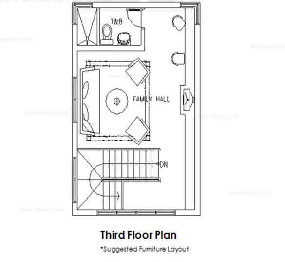 Taisho Third Floor Plan