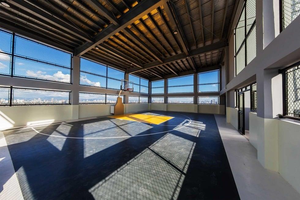 Half Court at Roof Deck