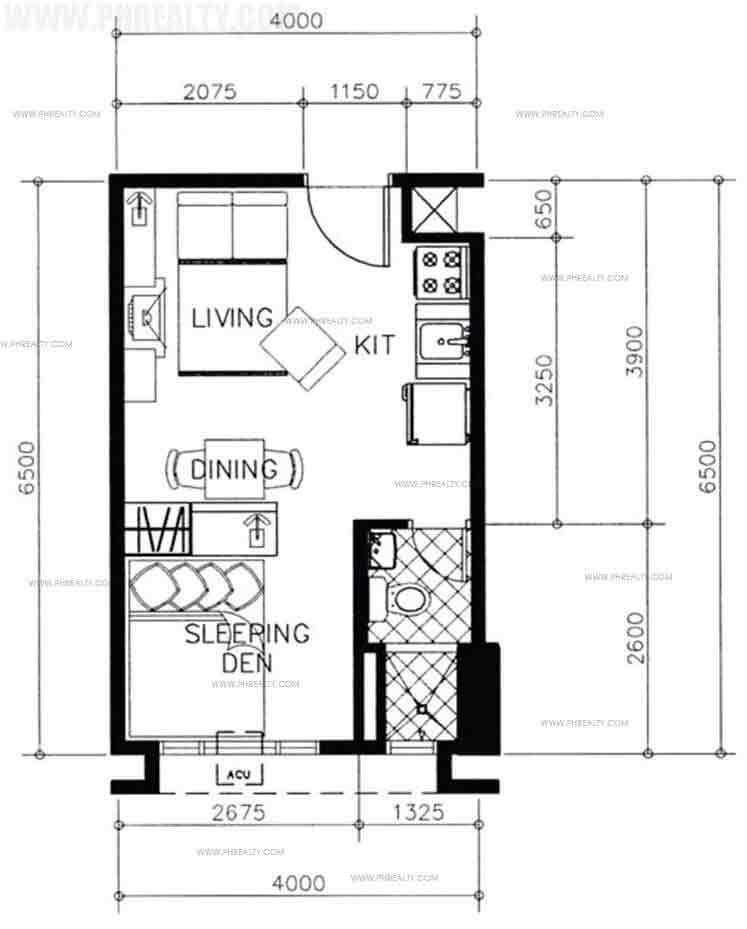 Tower 1 & 2 Executive Studio Unit