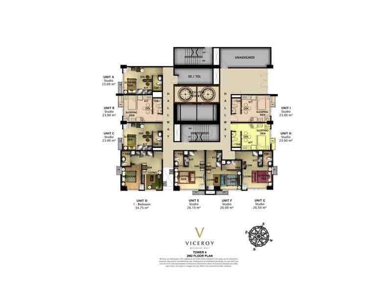 Tower 4 - 2nd Floor Plan