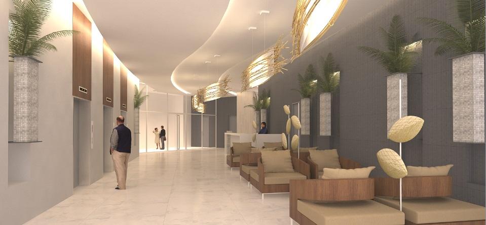 Tower A Ground Floor Lobby