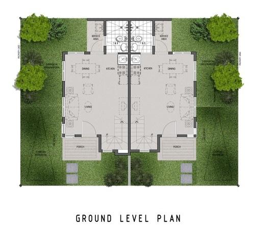Twin Home - Ground Floor