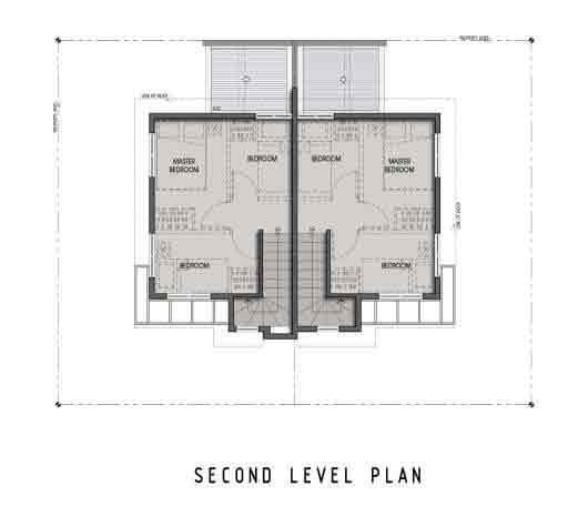 Twin Home - Second Floor
