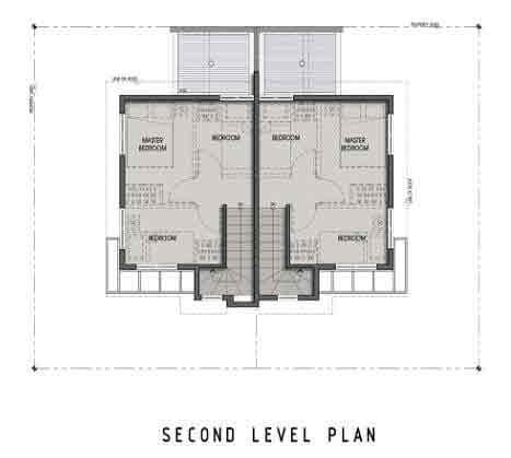 Twin Homes Second Floor