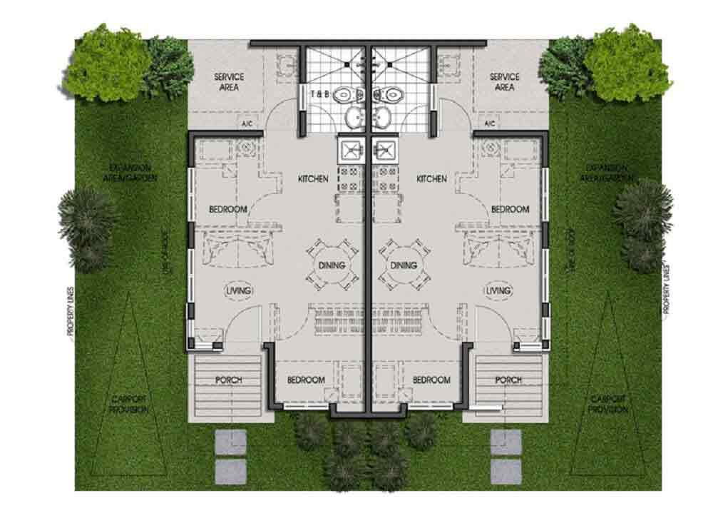 Twin Pod Floor Plan