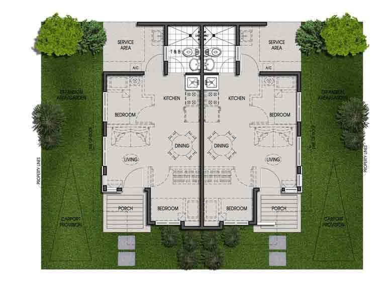 Twin Pod - Floor Plan