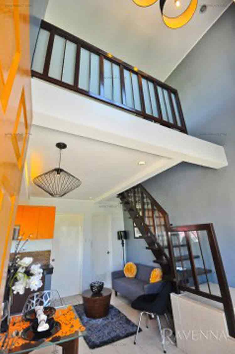 Two Storey Townhouse Loft Interior View