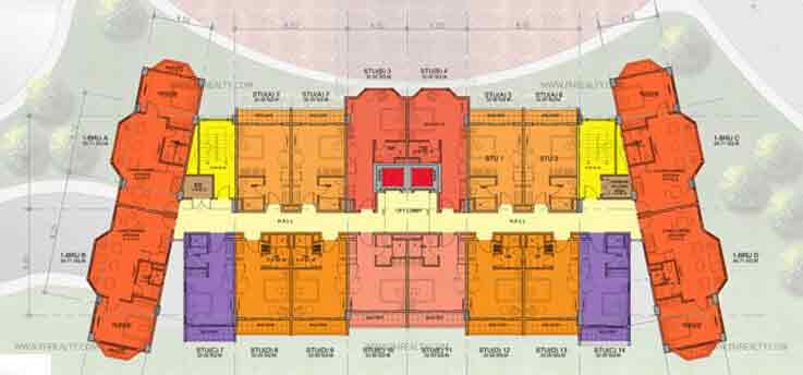 Typical 2 - 7th Floor Plan