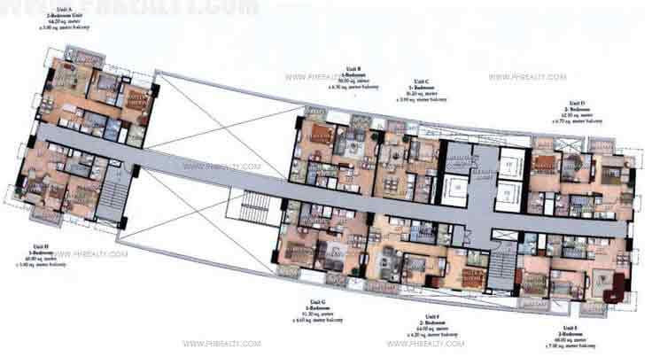 Typical Floor Plan 28th & 29th Floor
