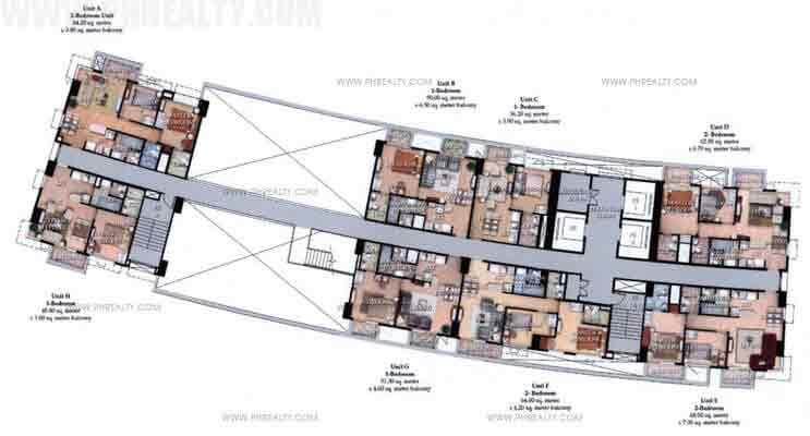 Typical Floor Plan 30th Floor