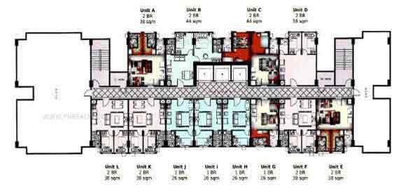 Typical Floor Plan 31st Level