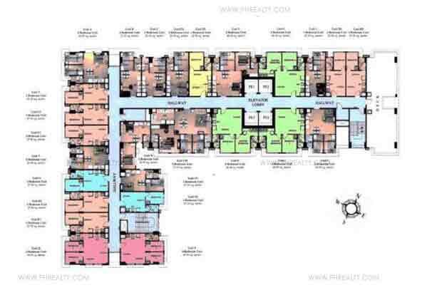 Typical Floor Plan 36th Level