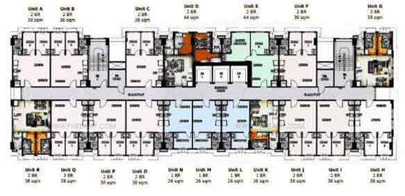 Typical Floor Plan 7th to 30th Level