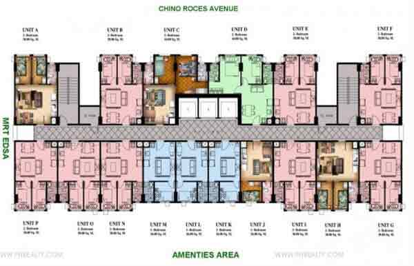 Typical Floor Plan 7th to 35th Level
