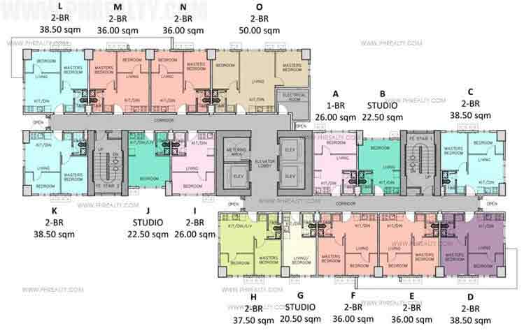 Typical Floor Plans 6th & 36th Level