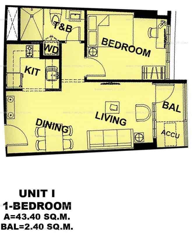 Unit I 1 - Bedroom