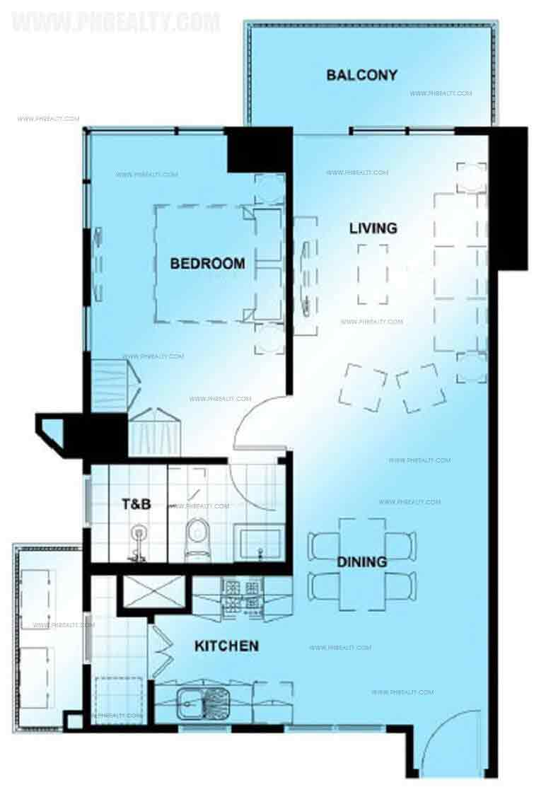 Unit Typical One Bedroom Unit