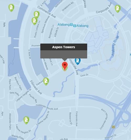 Aspen Towers Location